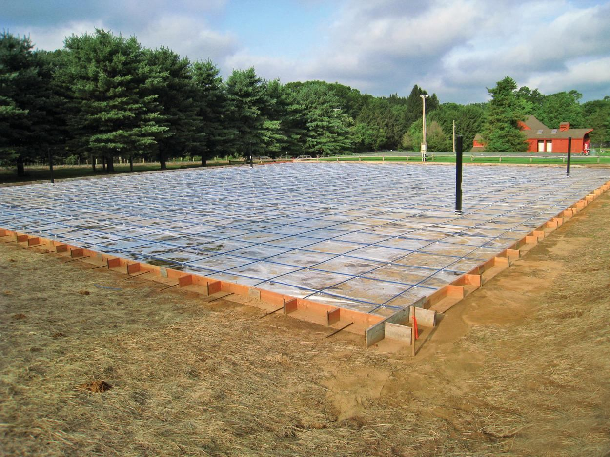 Concrete Company Creates Community Park Basketball Courts| Concrete Construction Magazine | Post ...