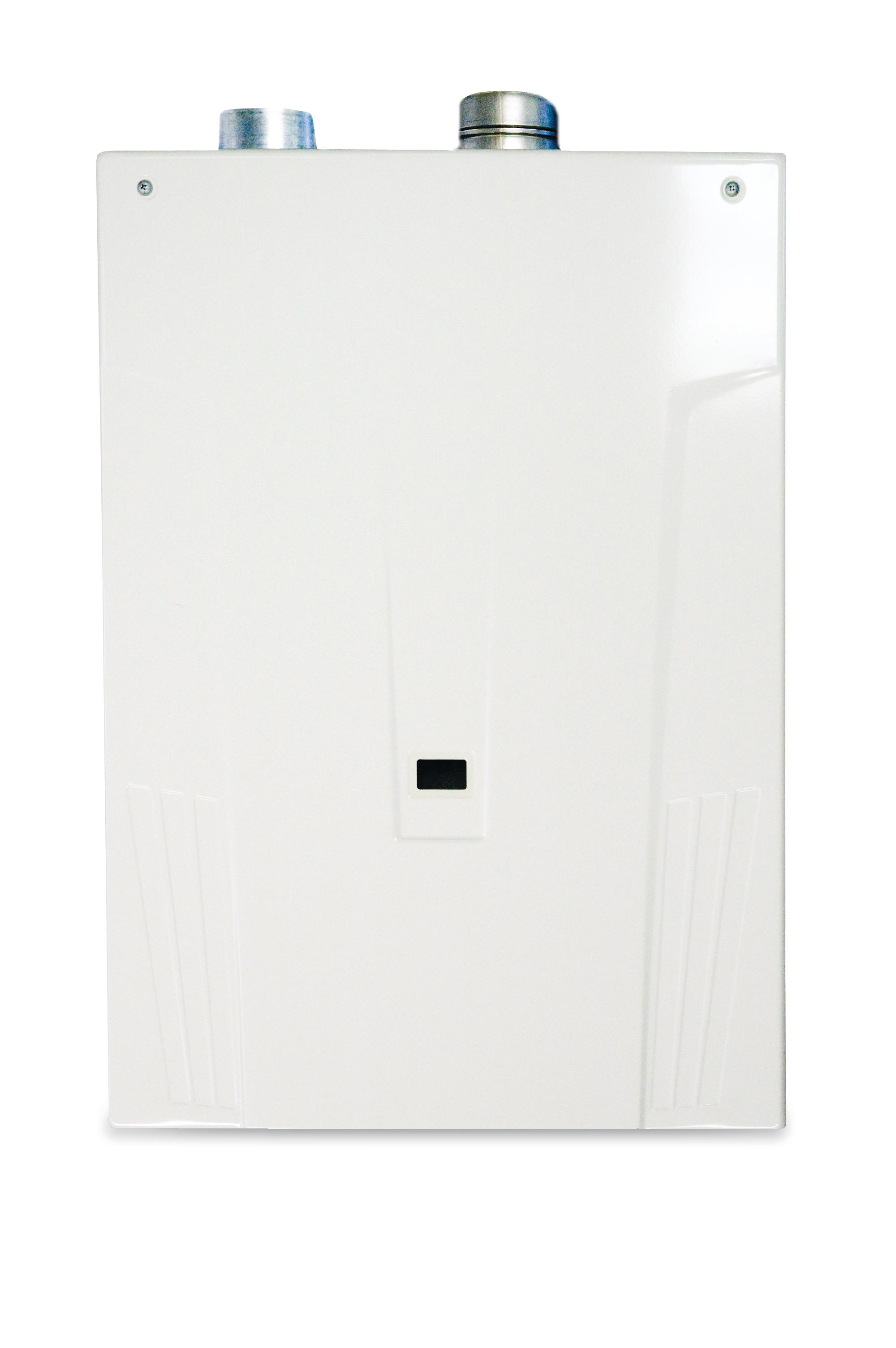how to build tankless condensing water heater