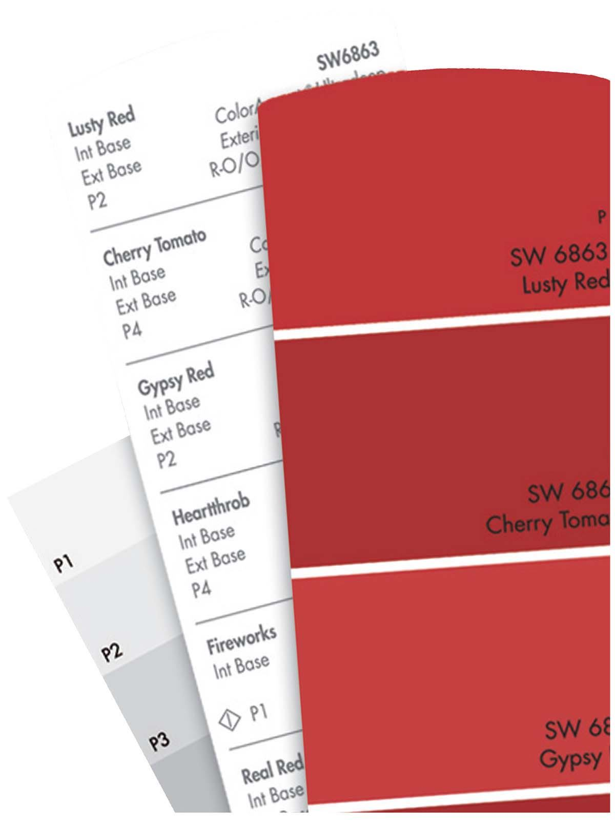 Concepts in Color paint palette Sherwin-Williams | Architect ...