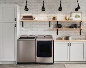 Samsung Offers Top Load Washer Dryer In Champagne Finish