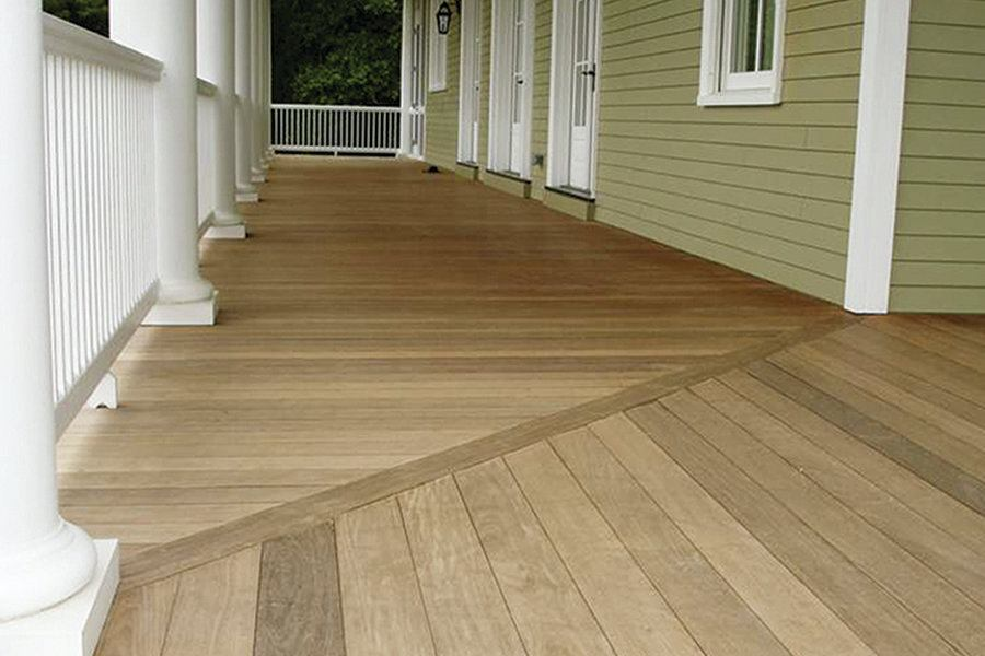 Flooring An L Shaped Porch Professional Deck Builder