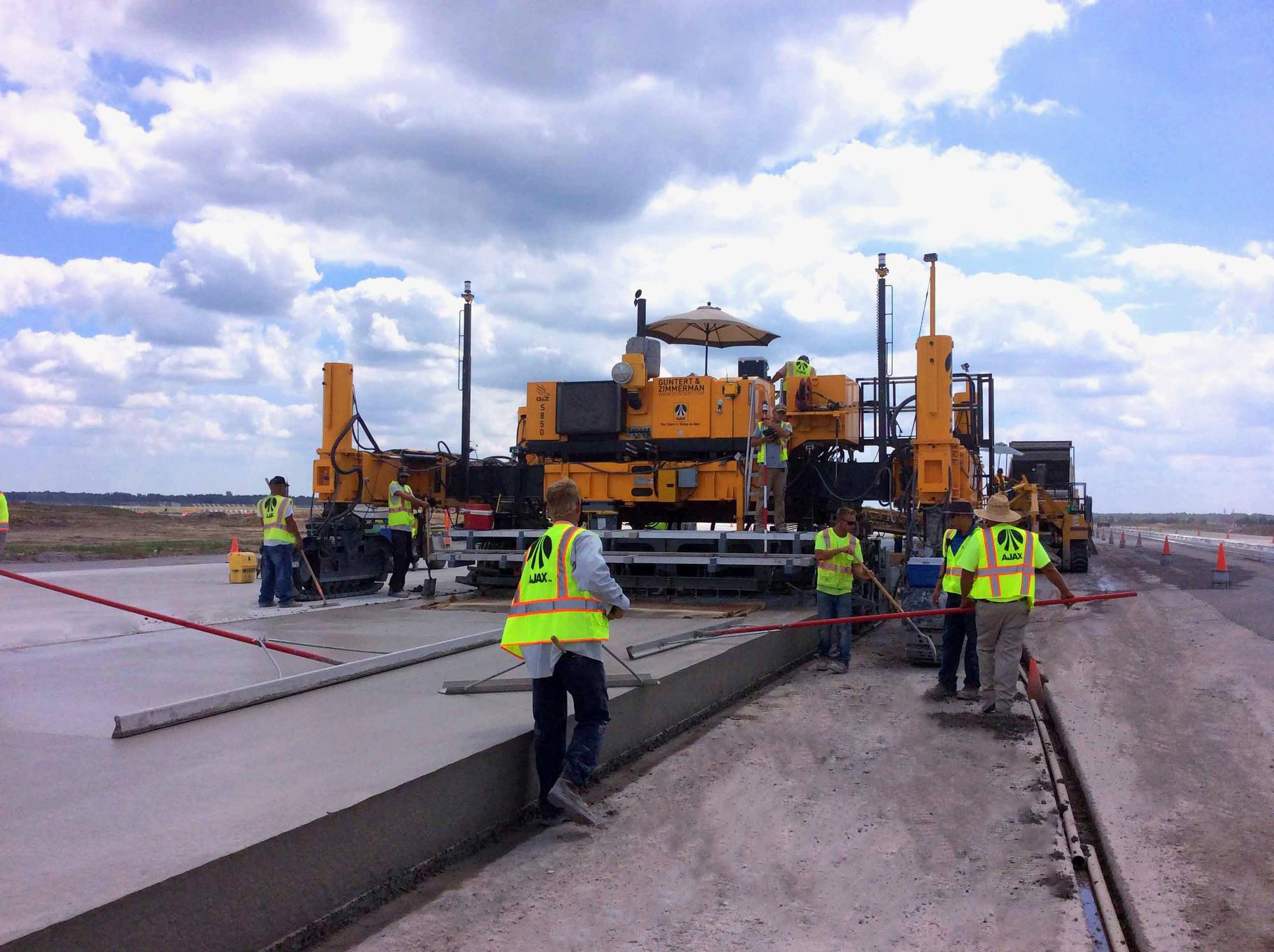 Detroit Metropolitan Airport Concrete Construction Magazine