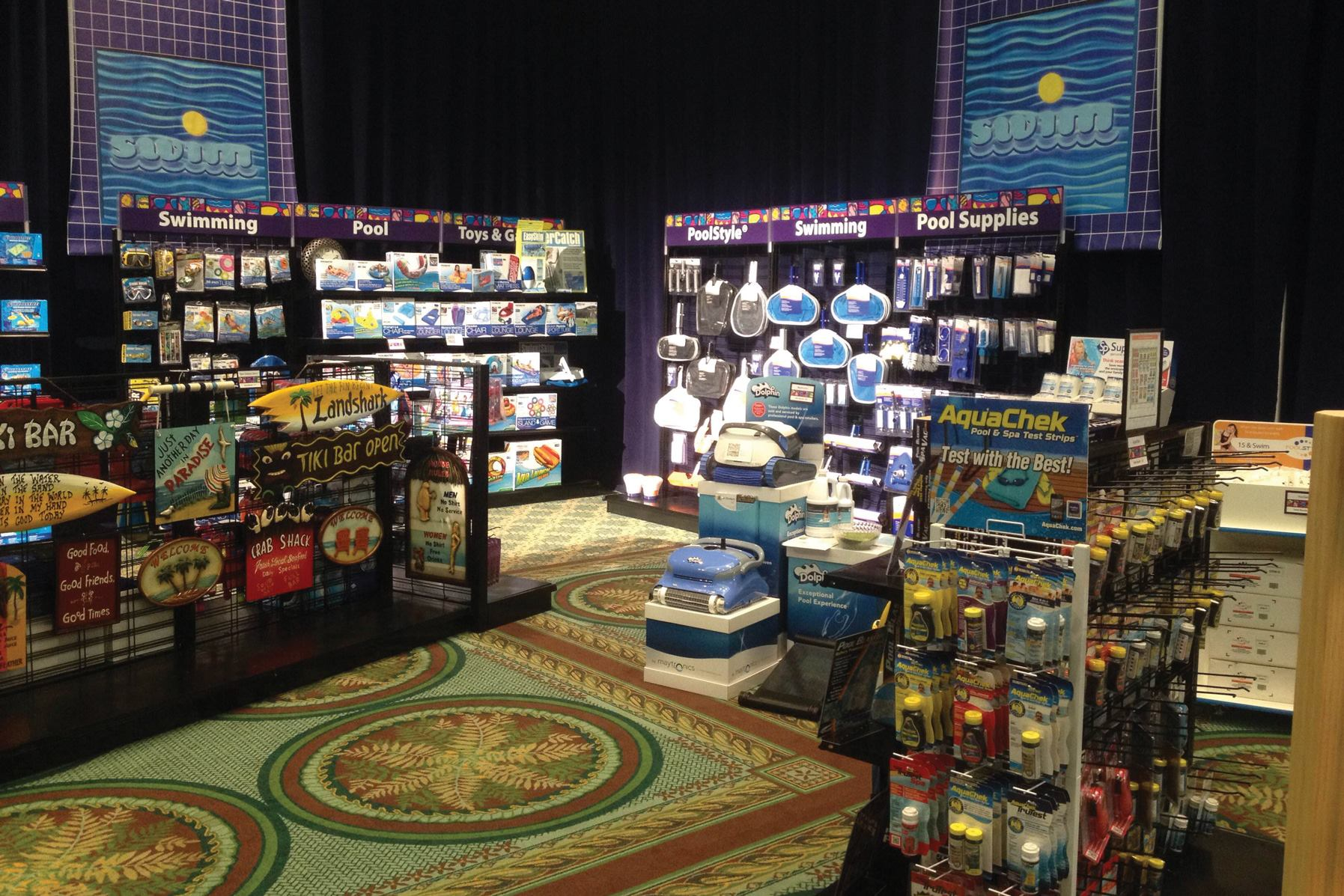 model store unveiled at poolcorp summit