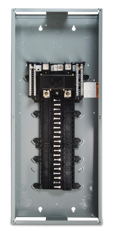 schneider electric square d service upgrade load center