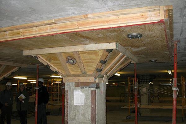 Defining Concrete Repair Parking Plaza Slab Strengthening
