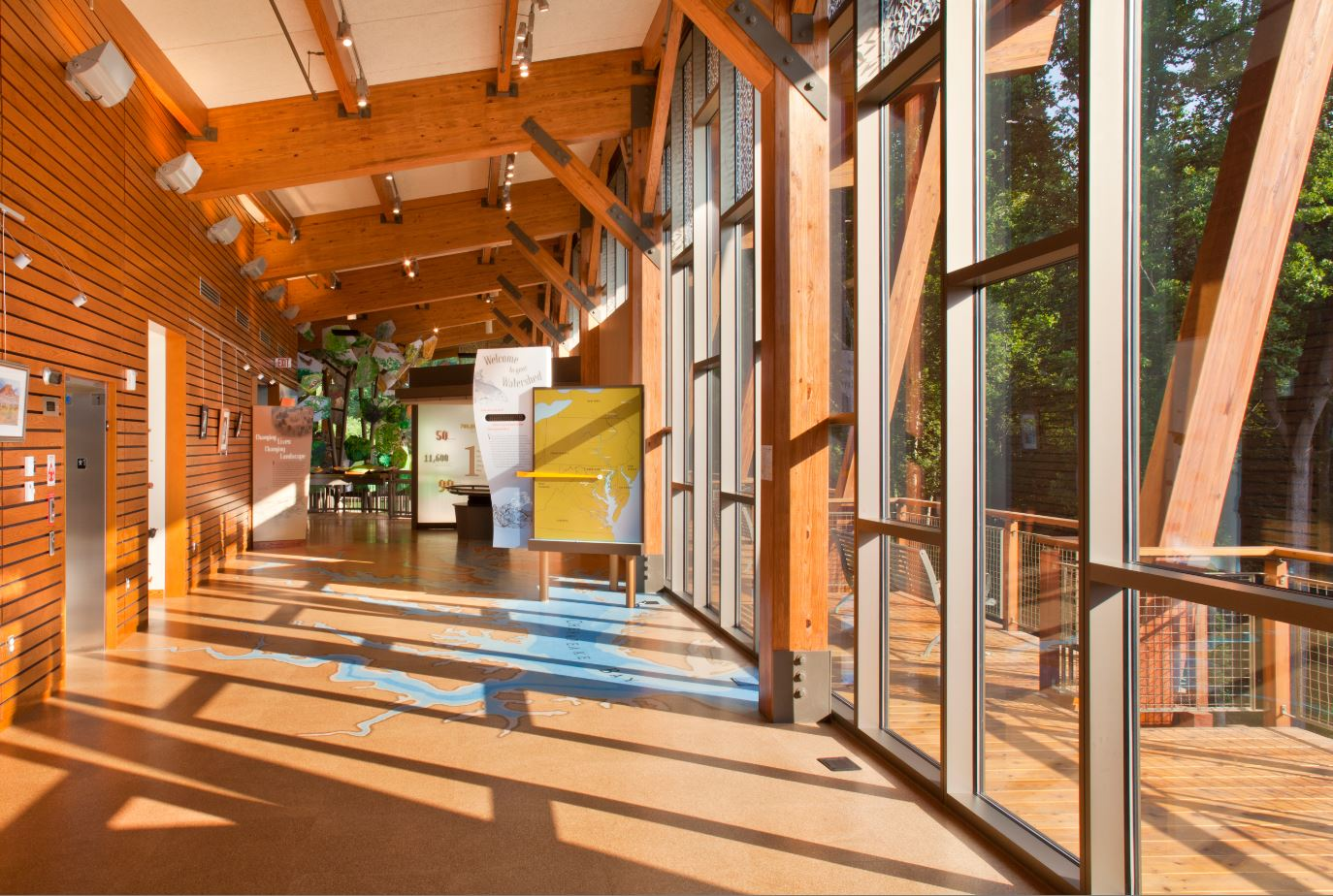 James and Anne Robinson Nature Center | Architect Magazine ...