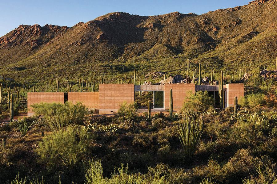 Tucson Mountain Retreat Tucson Ariz Custom Home Magazine