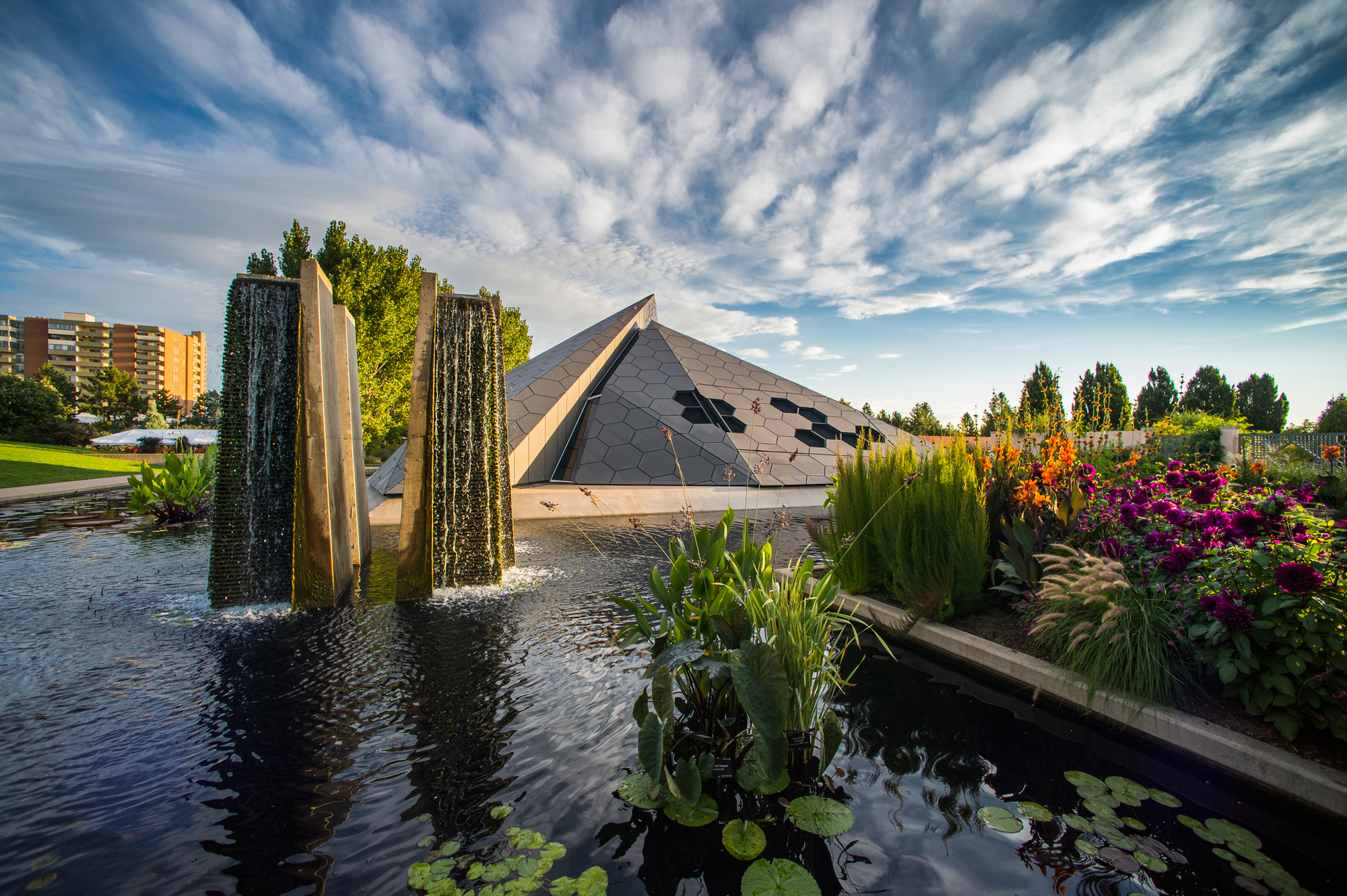 Denver Botanic Gardens Science Pyramid Architect Magazine Denver Co Community Cultural