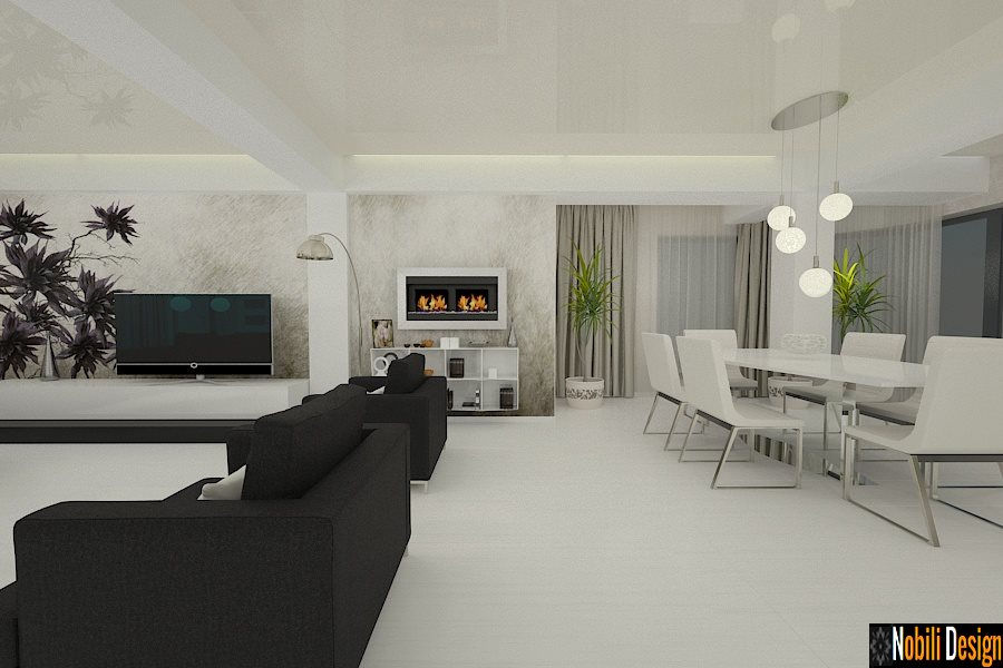 Interior design ideas for a modern living and bedroom | Architect ...