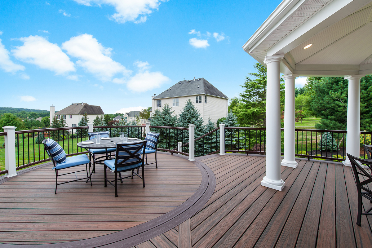 Composite deck extends 39 heart of the home 39 remodeling for Composite decks