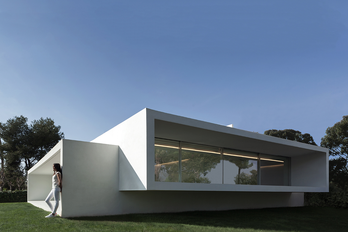 Breeze house architect magazine fran silvestre - Best house castellon ...