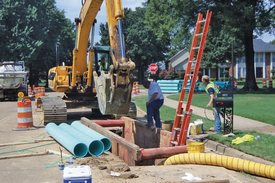 Directional Drilling For Gravity Sewers Public Works