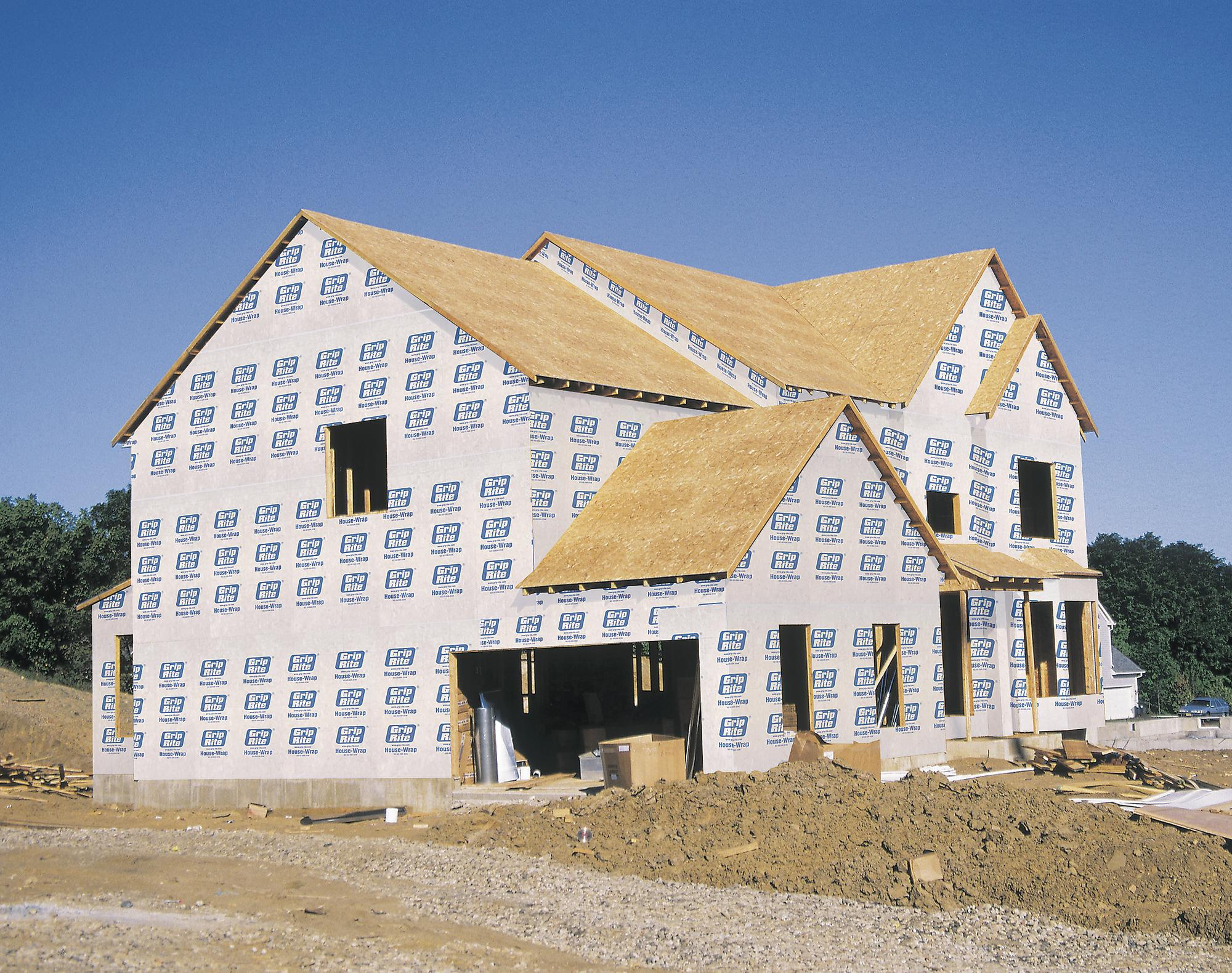 Primesource building products grip rite house wrap for House framing 101
