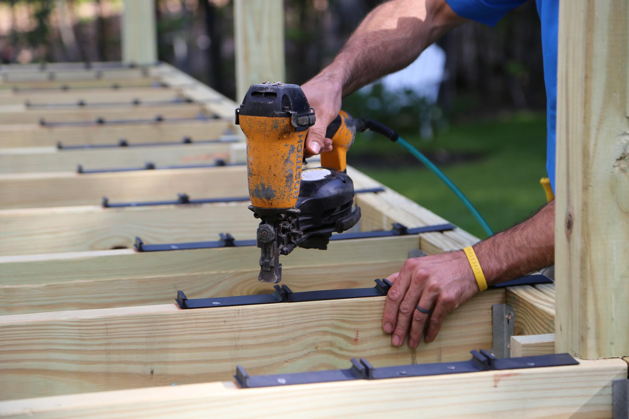 Faster Hidden Fasteners Professional Deck Builder Decking