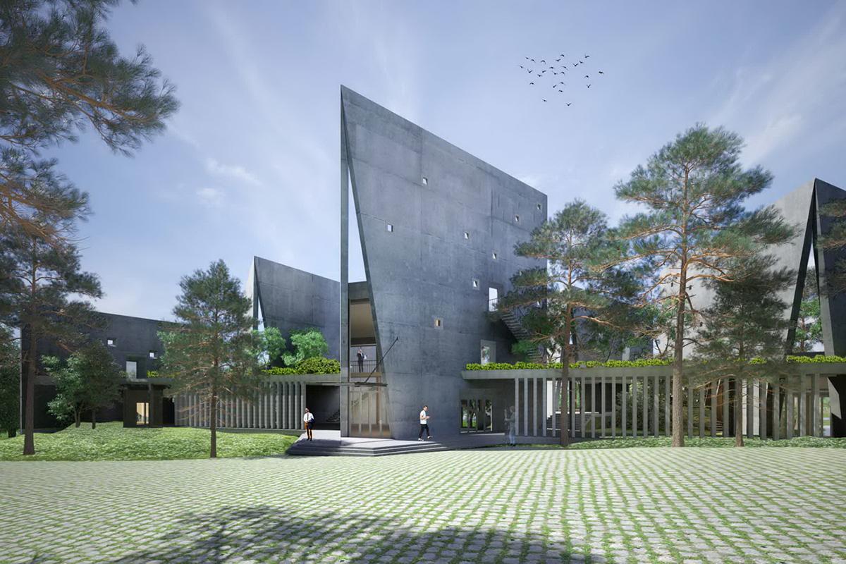 Viettel Offsite Studio Architect Magazine Vo Trong