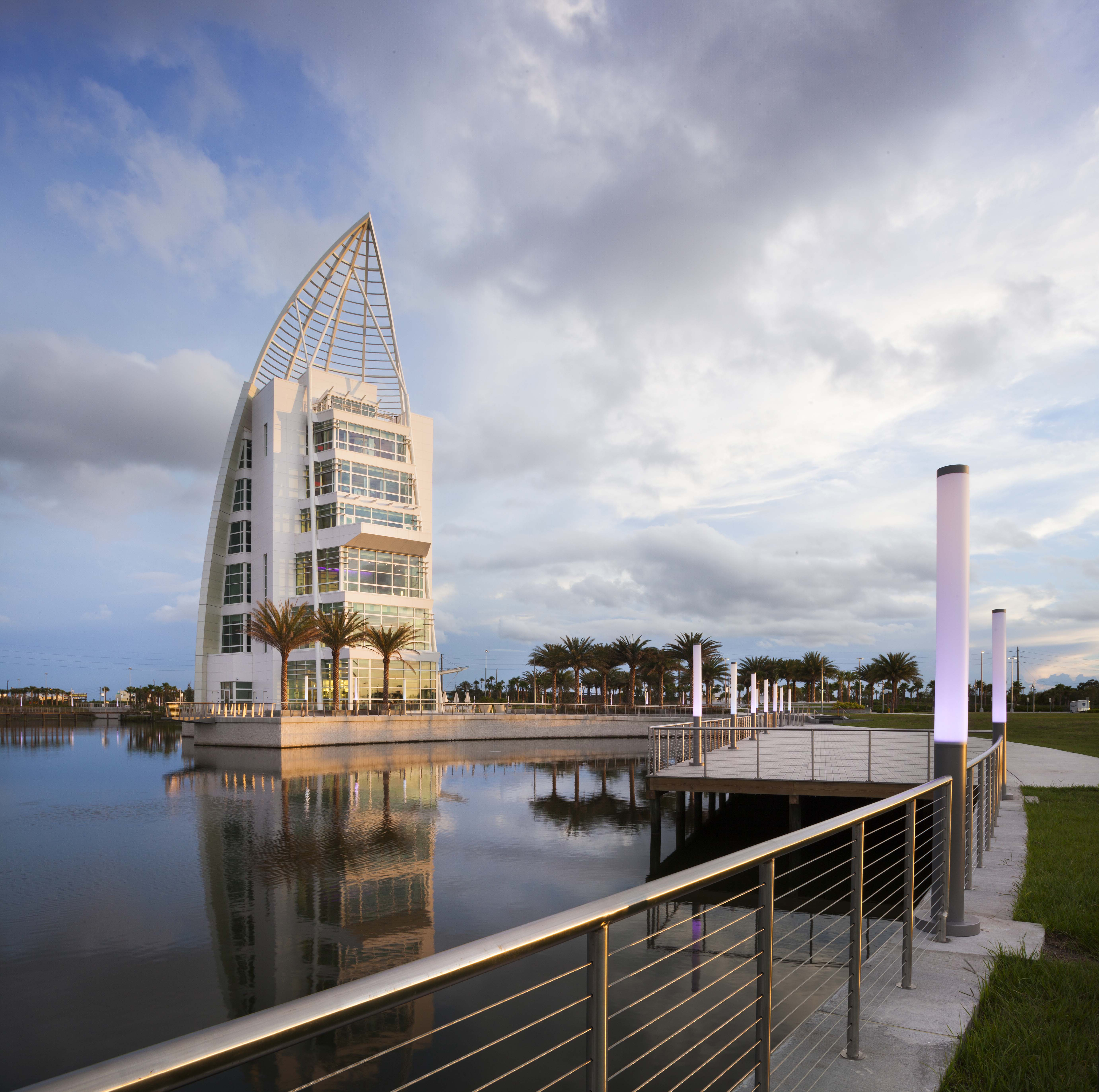 Exploration Tower At Port Canaveral Architect Magazine
