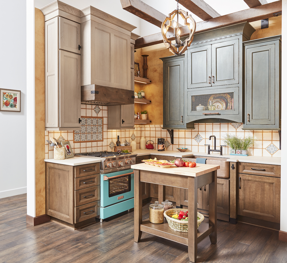 Cabinet And Countertop Growth Is Tied To The Renovation