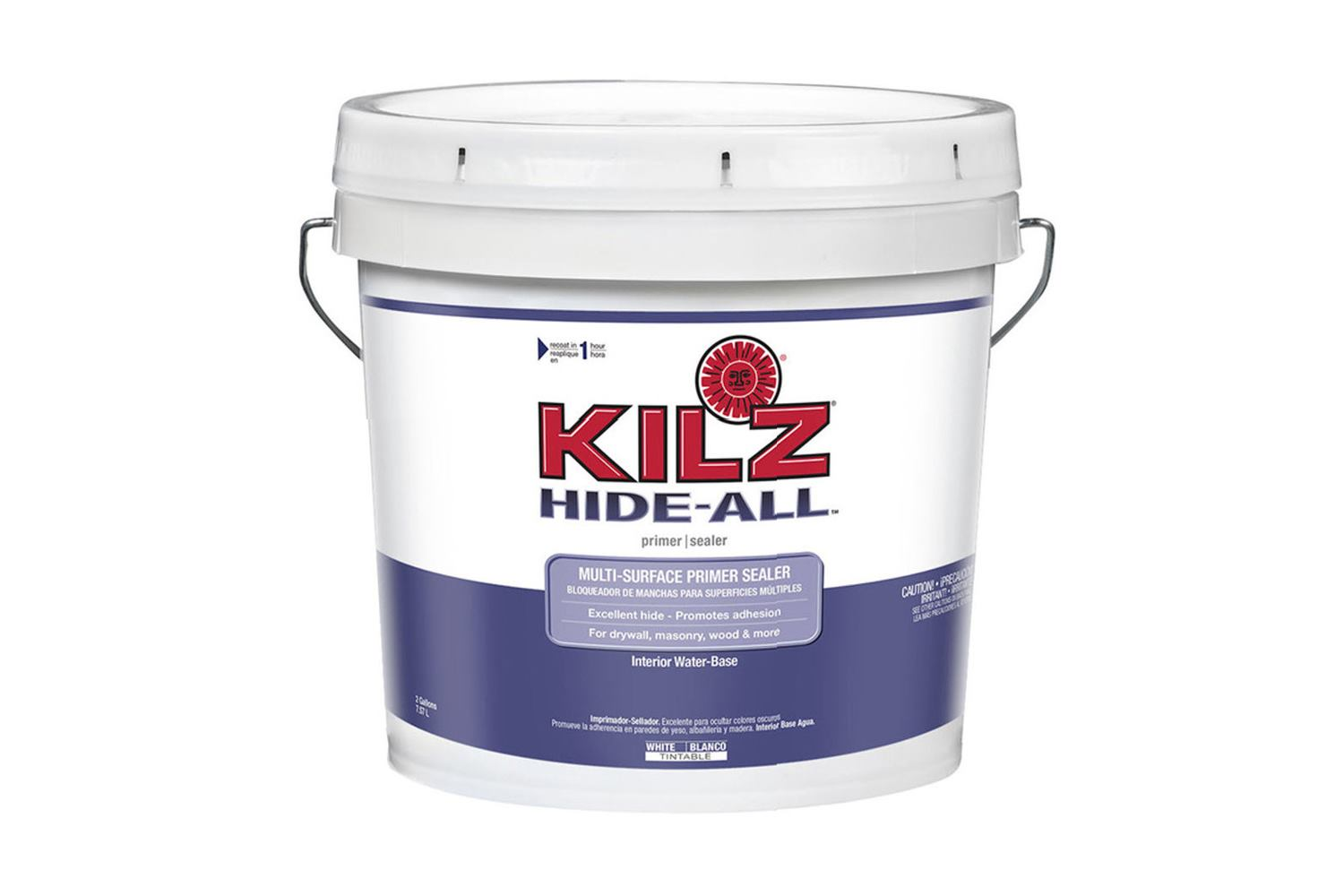 Kilz Adds 1 And 5 Gallon Hide All Bucket Sizes Jlc Online