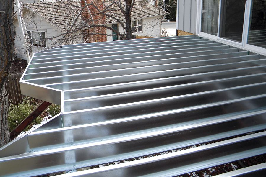 Building With Steel Joists Professional Deck Builder