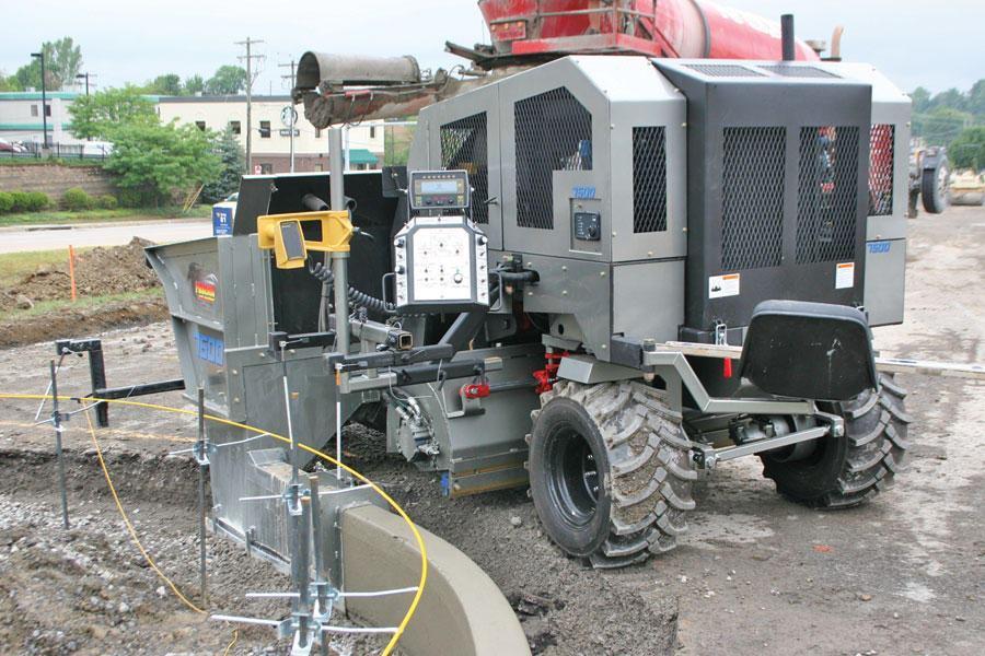 Phoenix Curb Machines Phoenix 7500 Curb Machine Public