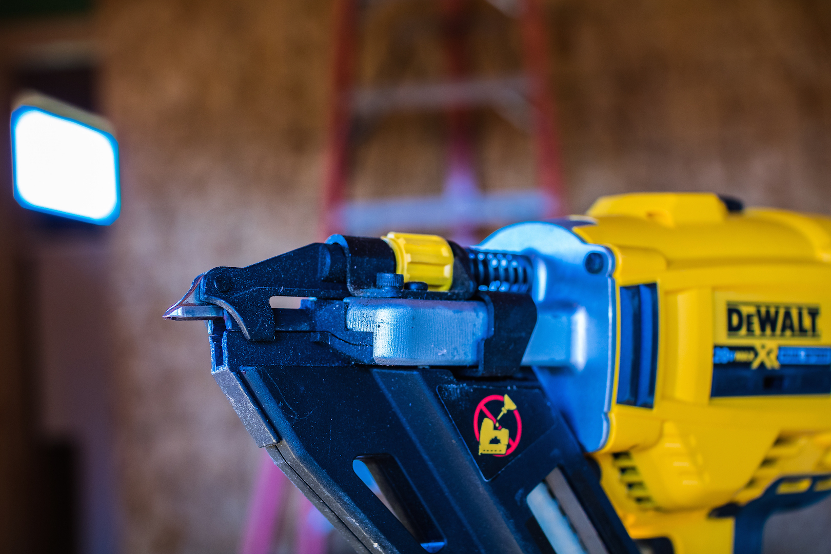 Dewalt Cordless Positive Placement Nailer Tools Of The Trade