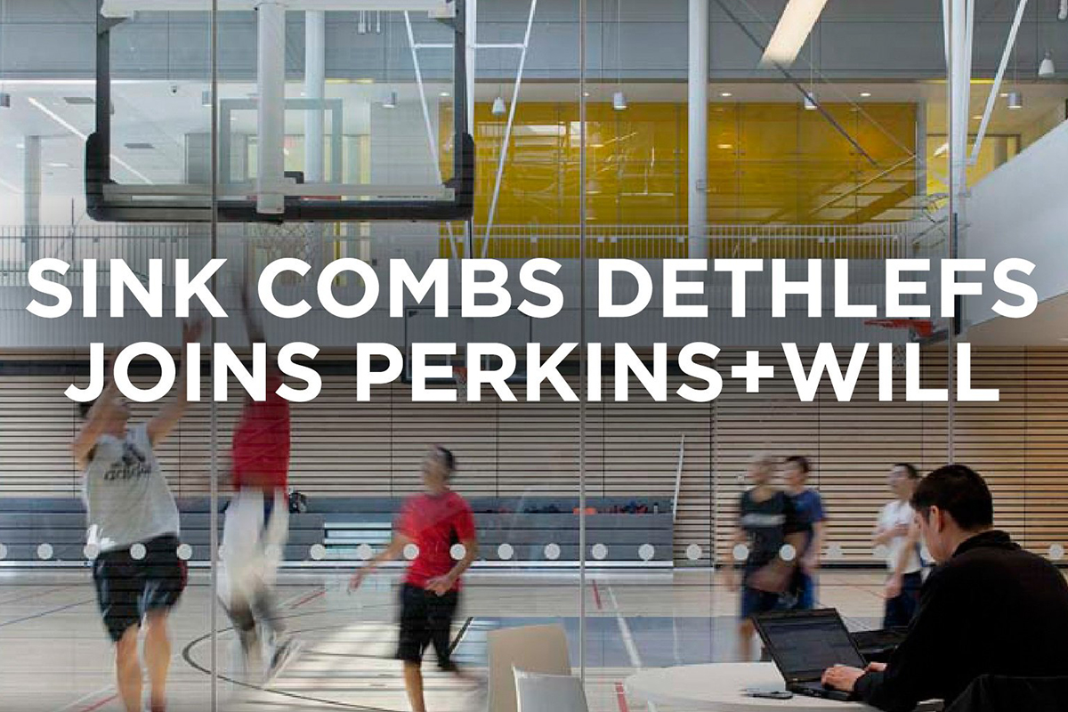 Perkins Will Acquires Sink Combs Dethlefs