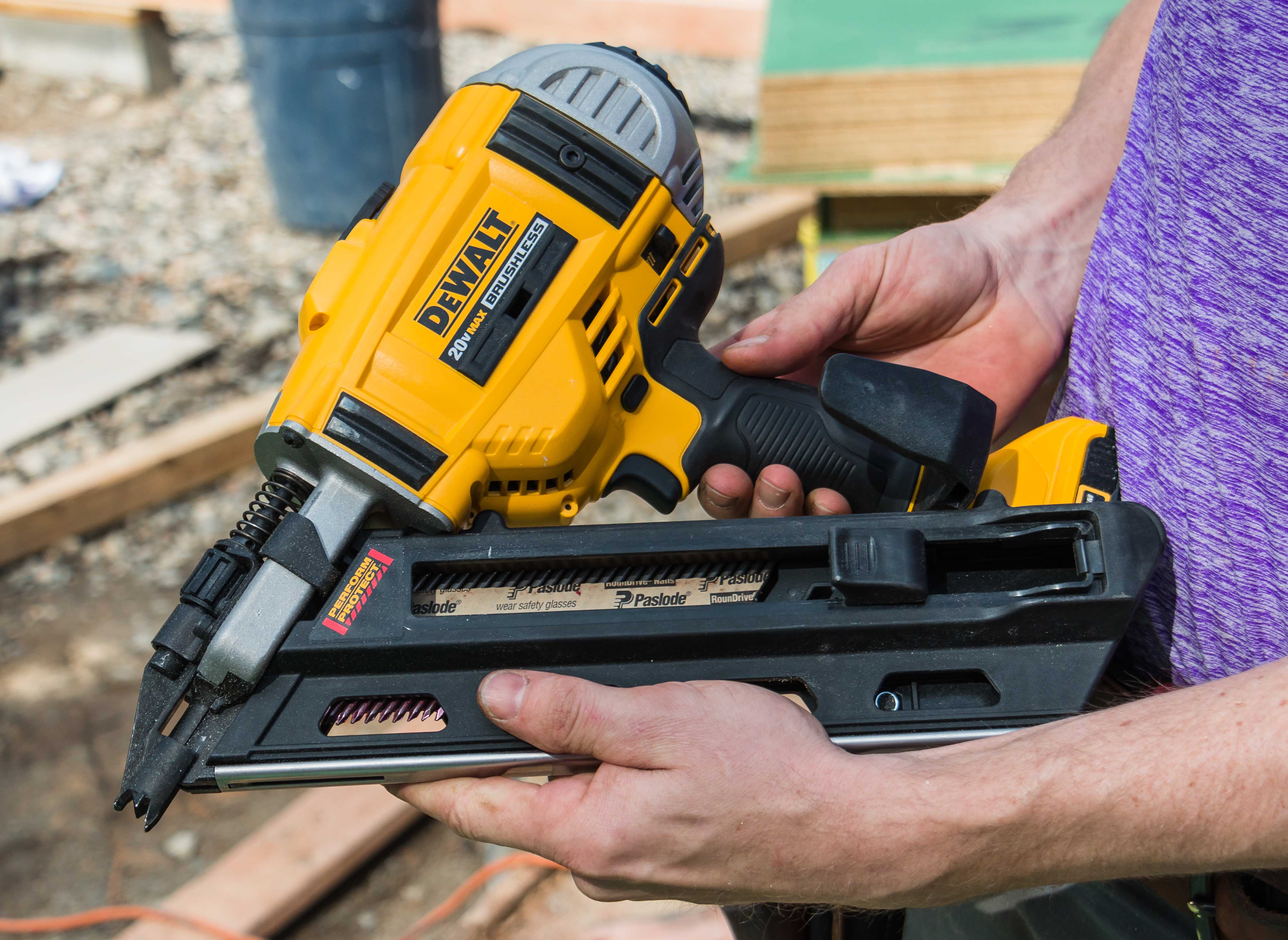 Field Tested: Paslode\'s Cordless XP Framing Nailer | Tools of the ...