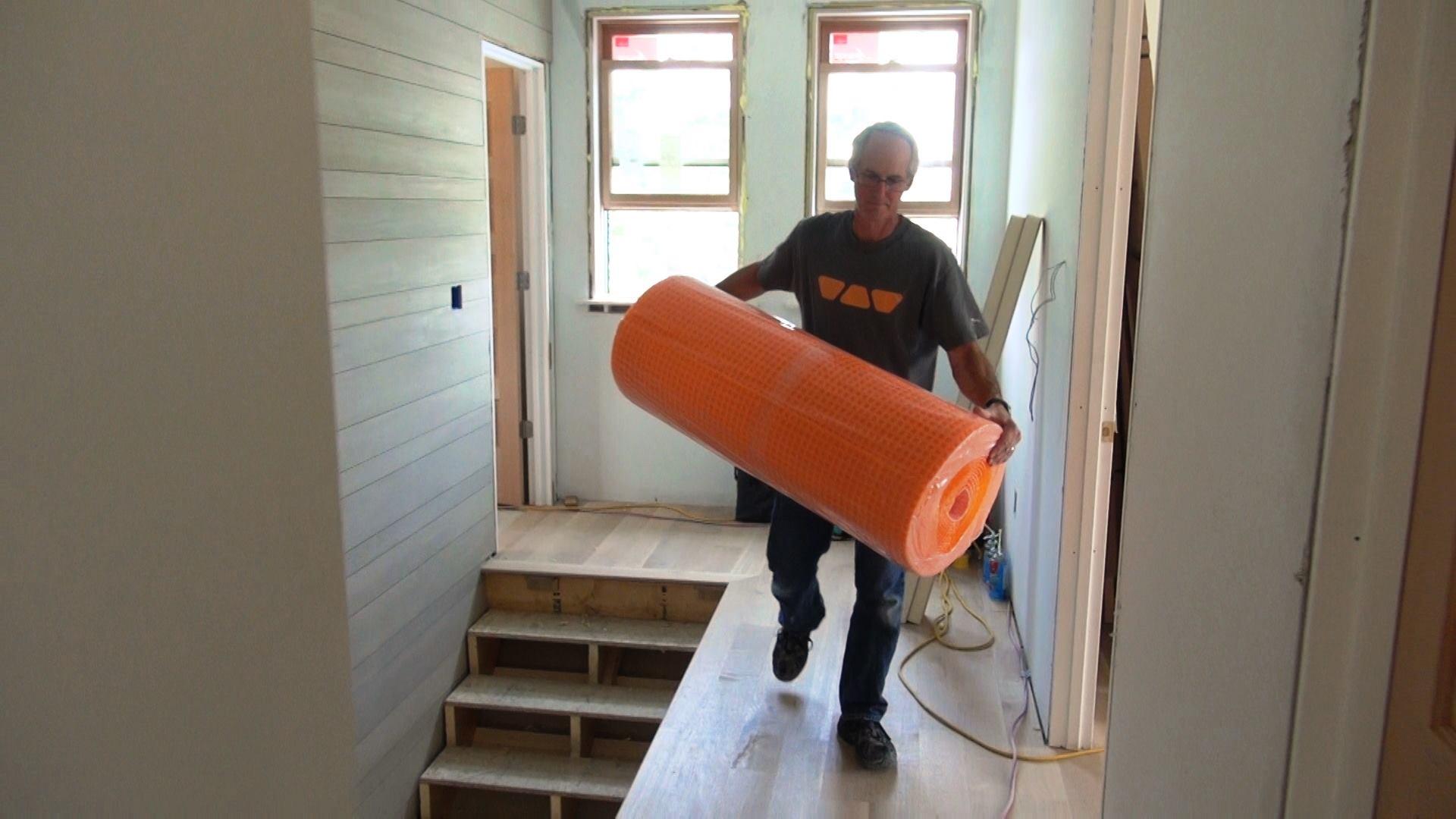 Prepping A Bathroom Floor For Tile Jlc Online