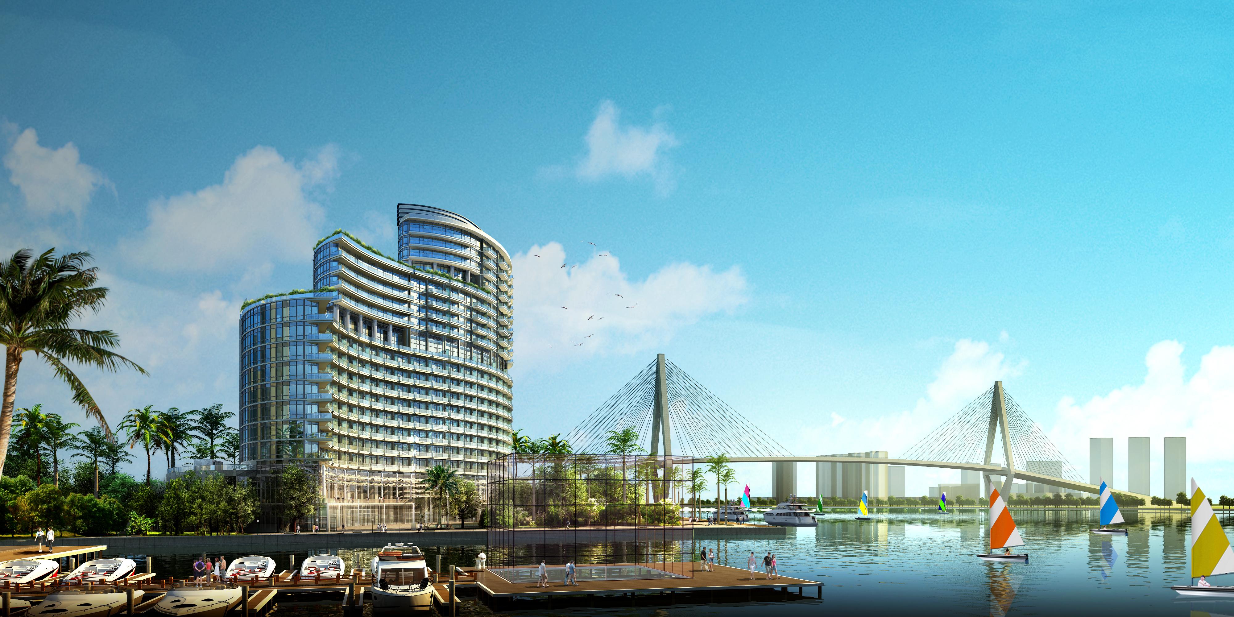 Haikou Danna Marina Hotel And Residences Architect