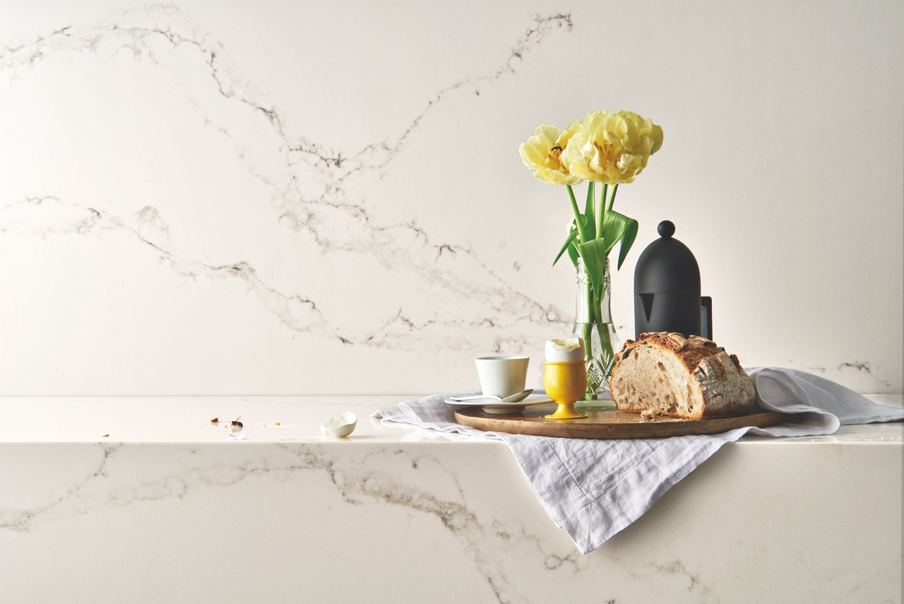 quartz countertop introductions bring sleek style
