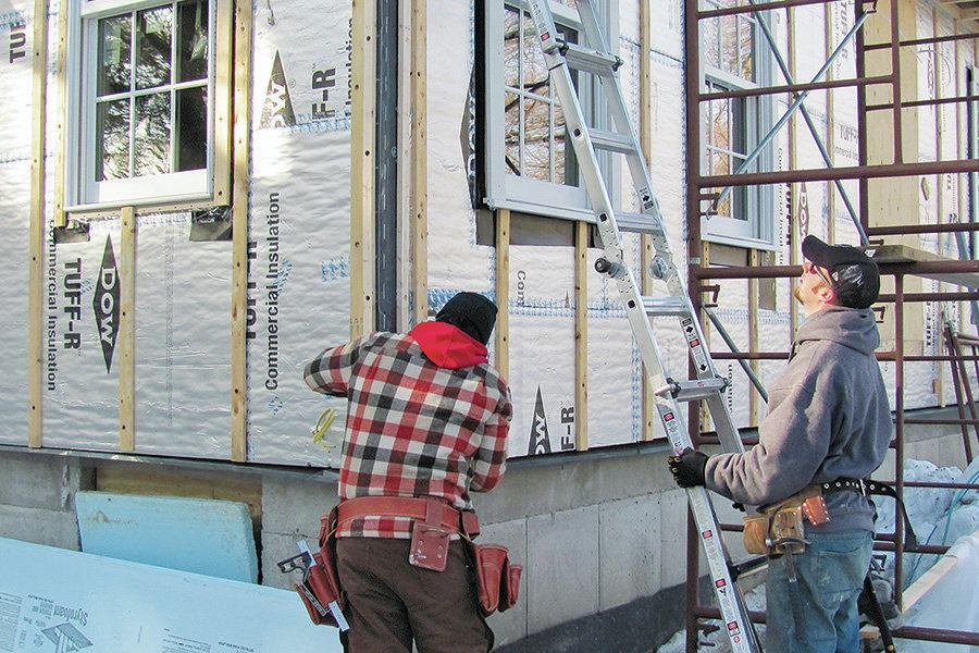 Best Practices Continuous Exterior Insulation Jlc Online
