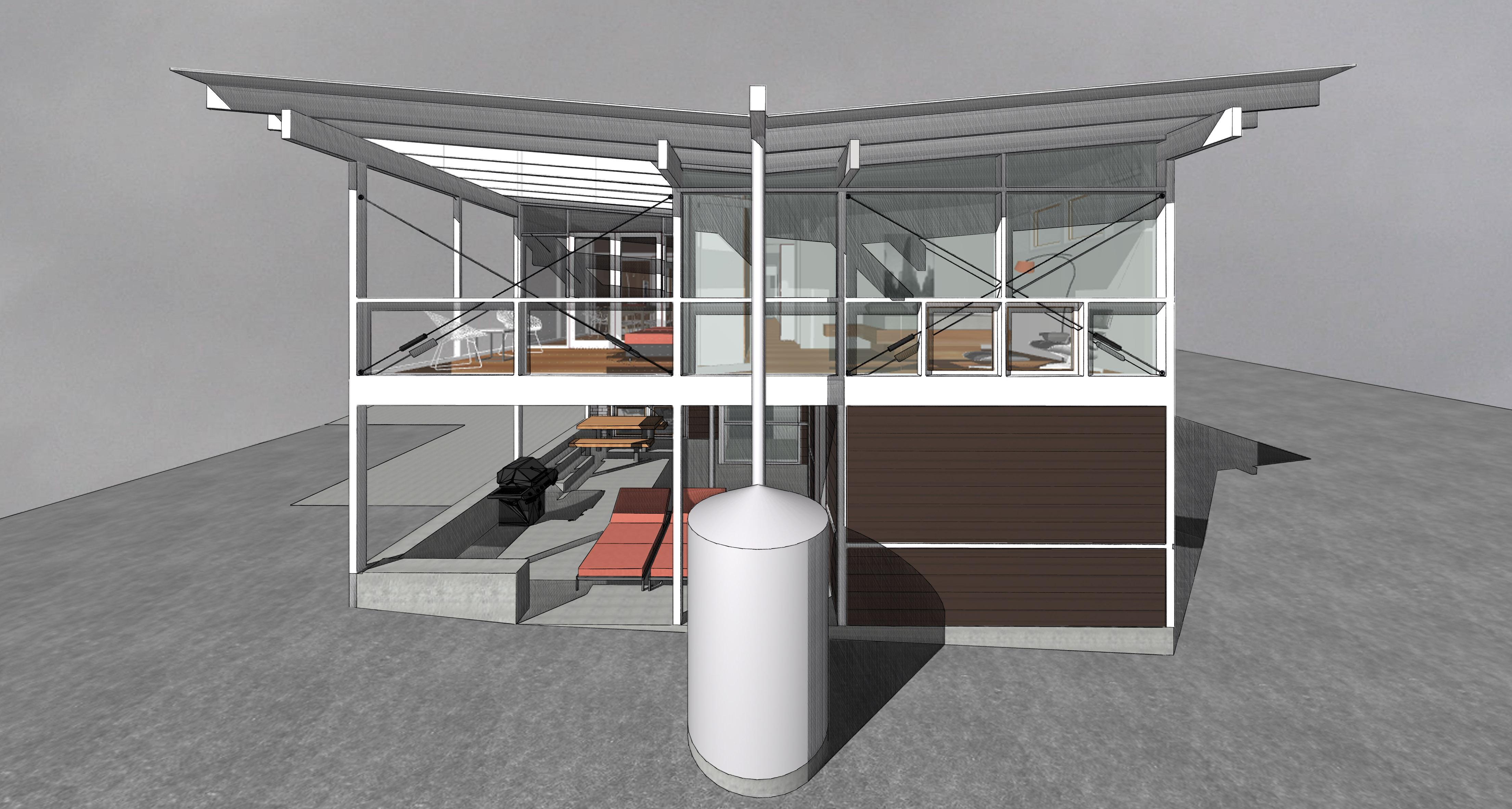 944la residential architect robert cain architect for Atlanta residential architects