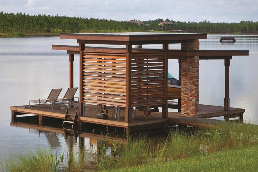 Boat Dock The Perfect Lakeside Hangout Builder Magazine