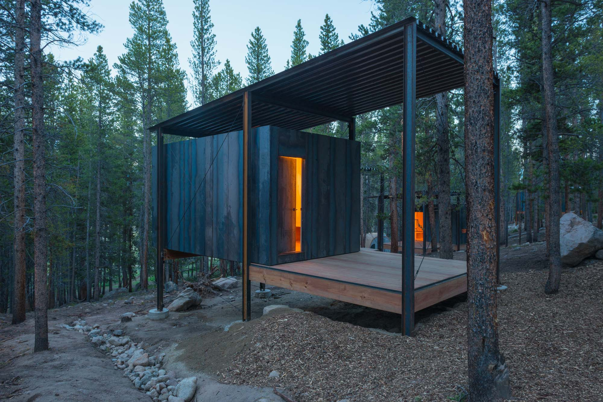 Colorado Outward Bound Micro Cabins Architect Magazine