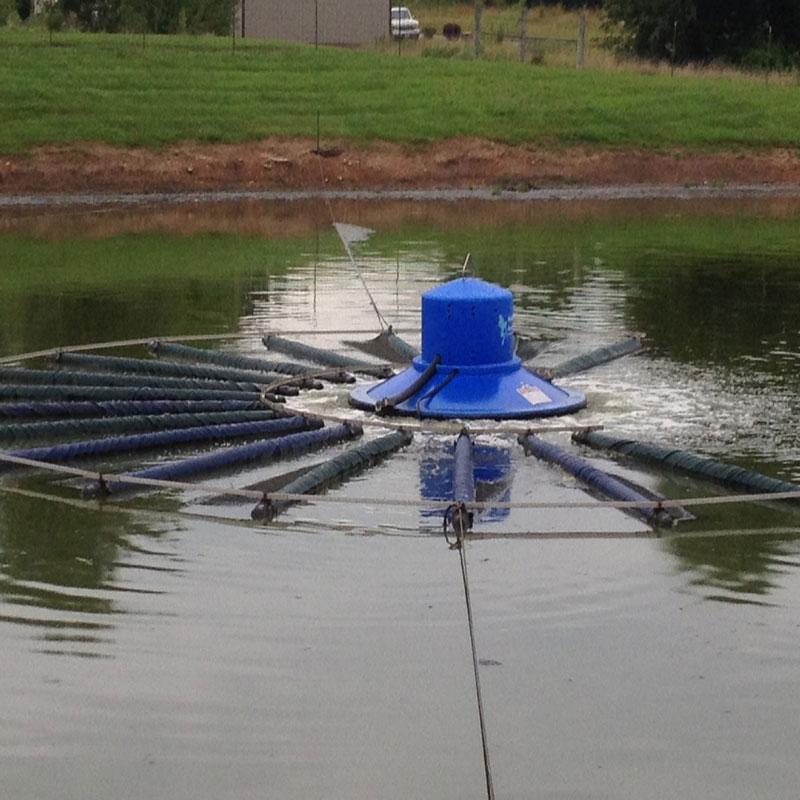 Lagoon Aerator Eliminates Dredging Public Works Magazine