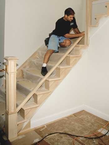 Installing Stair Railings