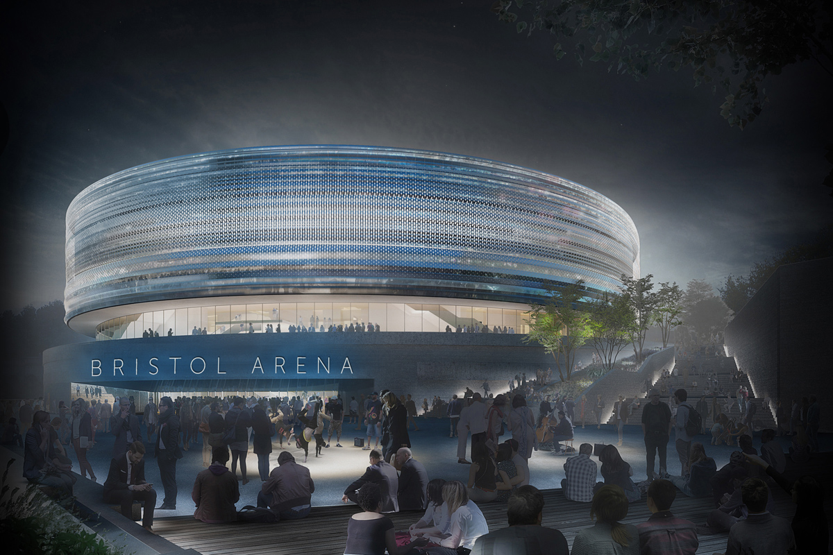 Bristol Arena Architect Magazine Populous Feilden
