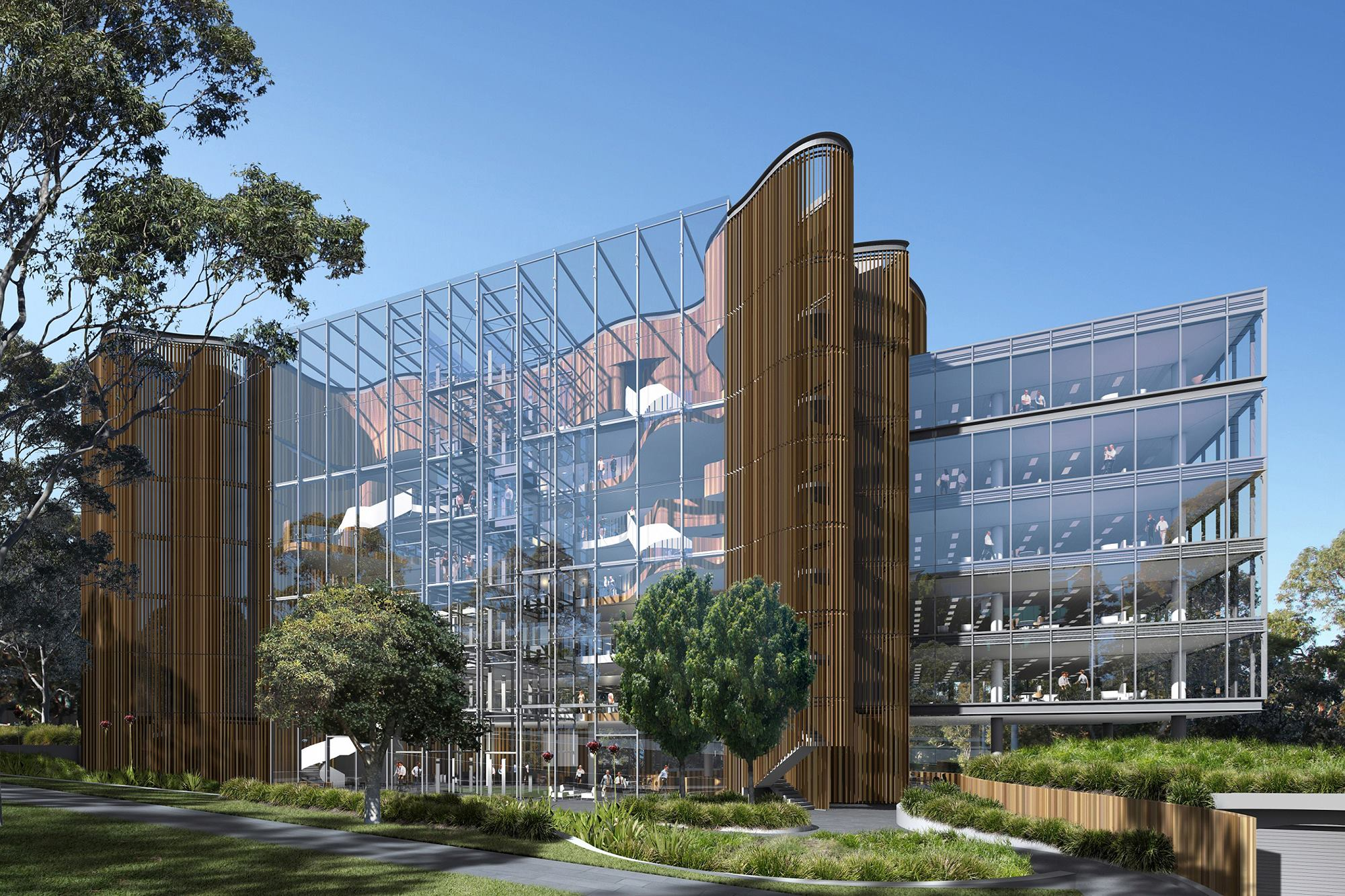 Hdr rice daubney design for novartis headquarters in for Top architecture firms sydney
