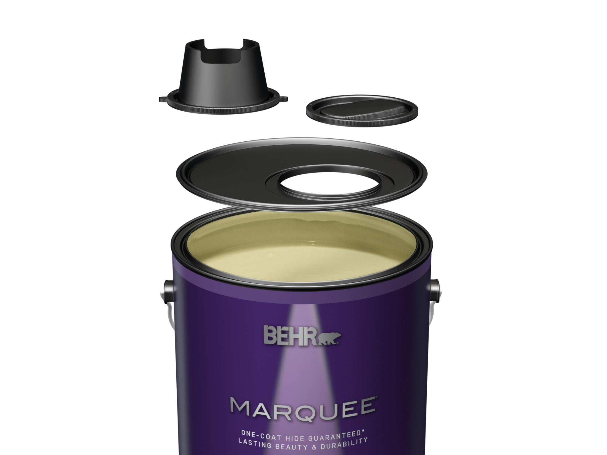Lid On Behr Marquee Primer And Paint
