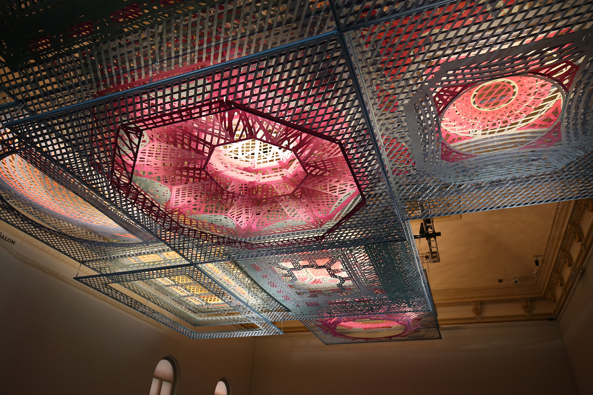 Washington's Renwick Gallery Introduces Ceiling-suspended