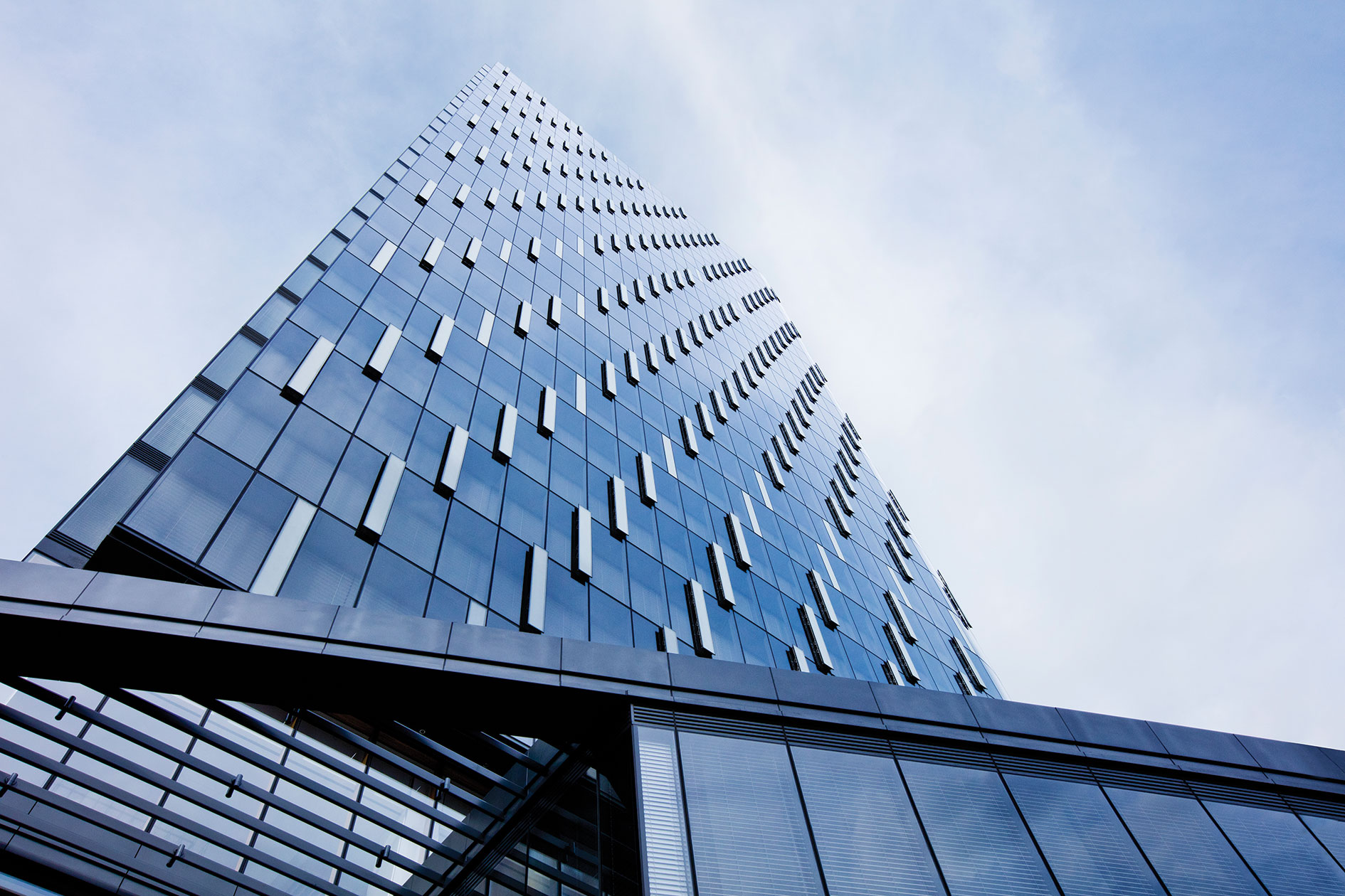 Front Elevation For Commercial Buildings : Award the tower at pnc plaza architect magazine high