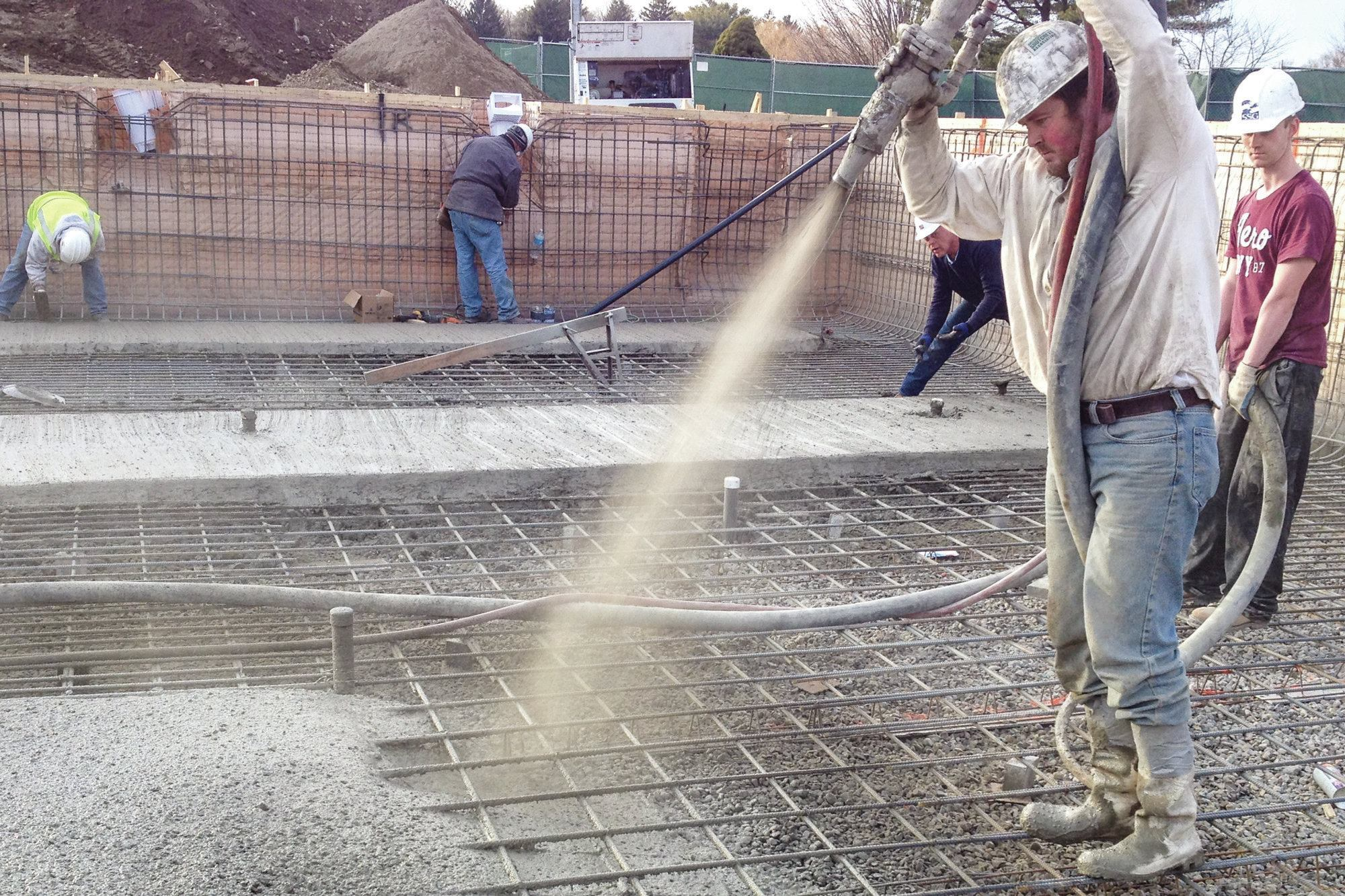 In The Mix Pool Amp Spa News Construction Concrete