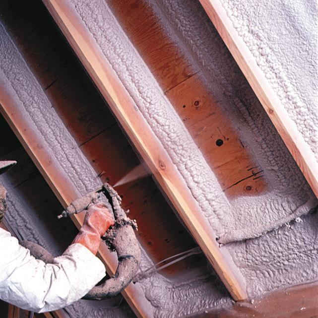 Product review spray foam insulation ecobuilding pulse for 6 fiberglass insulation r value