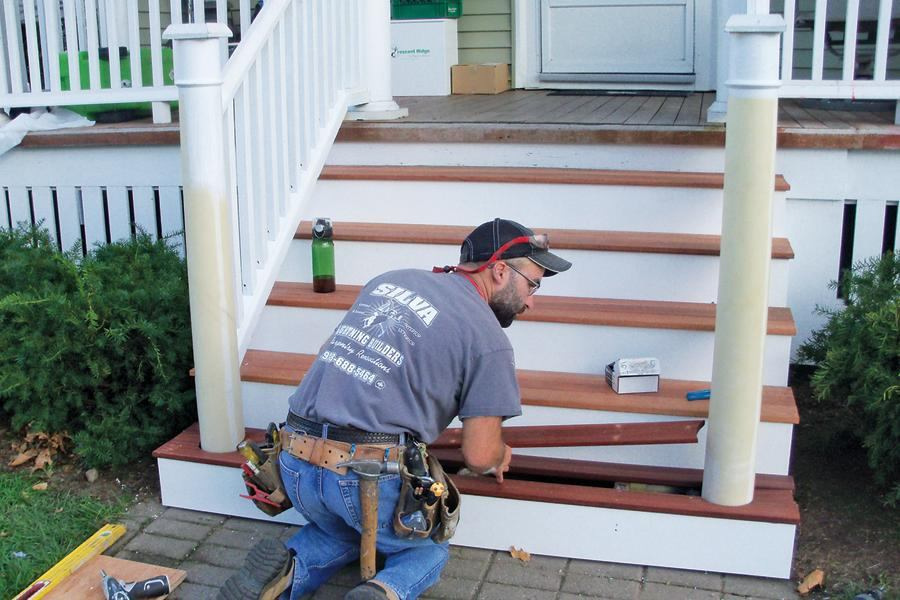 Rehabbing A Rotted Porch Stair | Professional Deck Builder | Structure,  Framing, Massachusetts