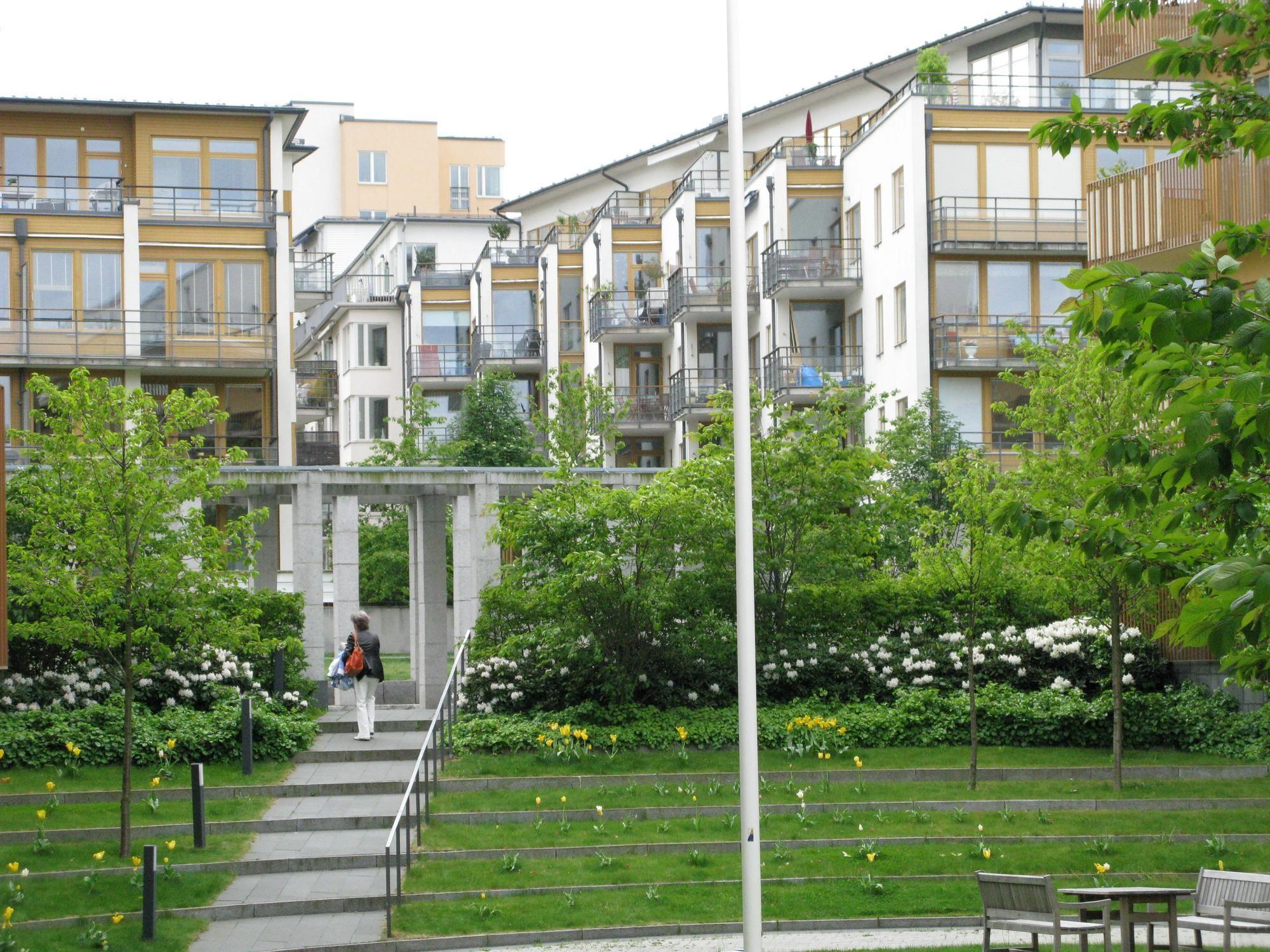 Landmarks Hammarby Sjostad Stockholm Sweden