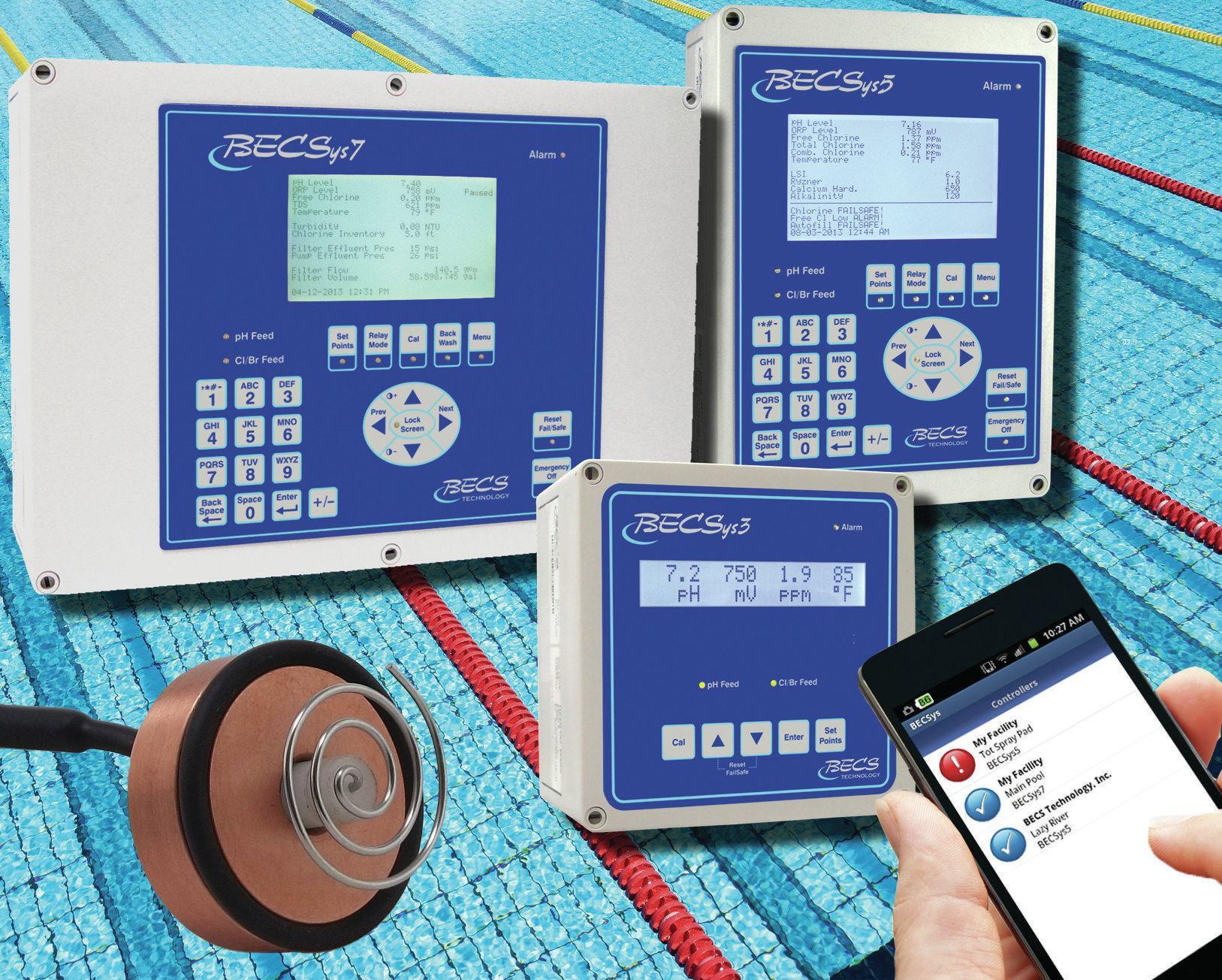 Cp 1 Free Chlorine Bromine Sensor Aquatics International