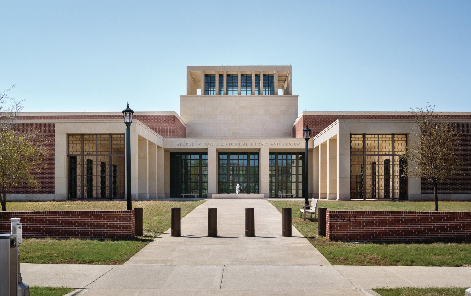 George W Bush Presidential Center Architect Magazine