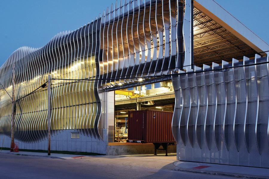 Zahner Cloud Wall Architect Magazine Metal Design