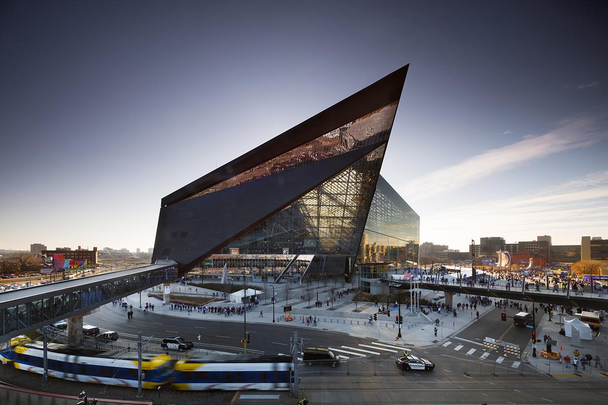 U S Bank Stadium Architect Magazine