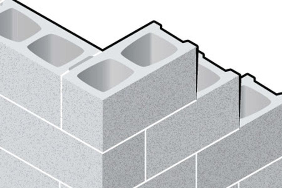 Block Foundation Corners Builder Magazine Construction